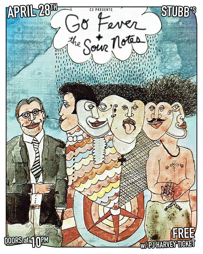 Sour Notes PJ Harvey Stubbs