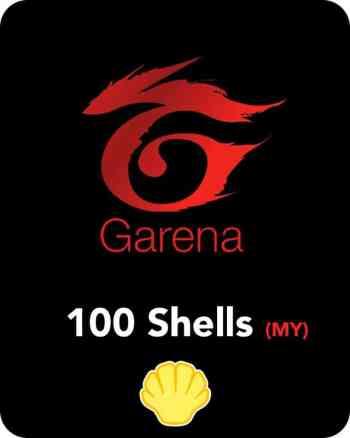 Garena 100 Shells MY