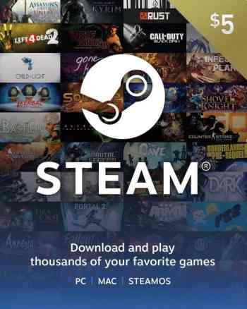 Steam $5