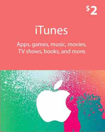 $2_ iTunes_ Gift_ Card