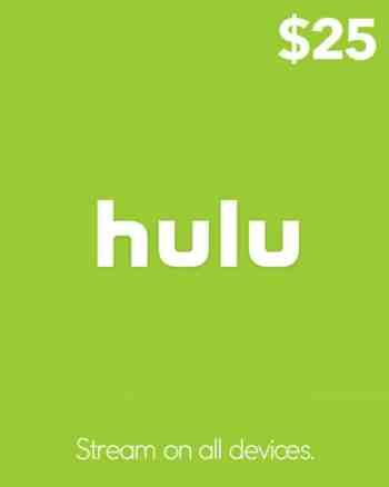 $25 Hulu Gift Card