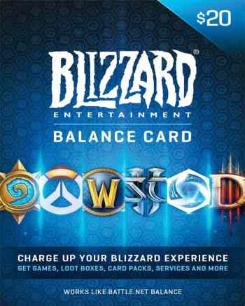 Battle.net Gift Card $20, Blizzard Entertainment