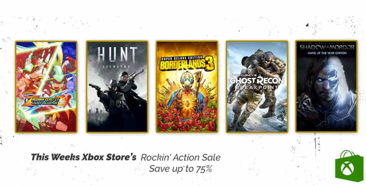 Xbox Store's Rockin Action Sale
