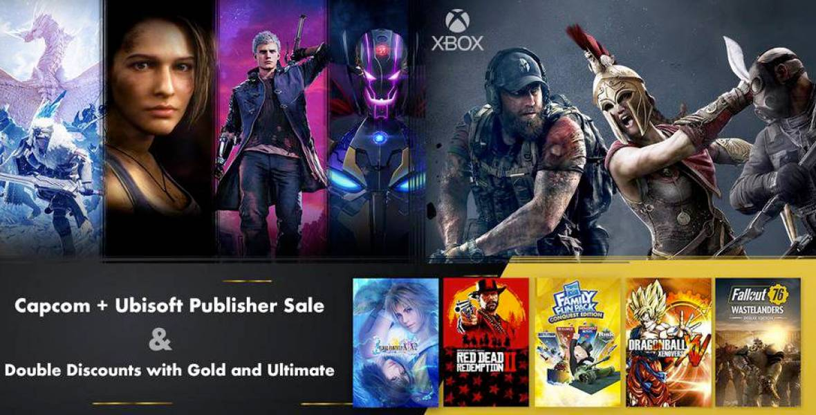 Xbox Weekly Deals - Capcom and Ubisoft Publisher Sale and Double Deals with Gold