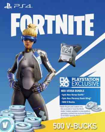 Fortnite Neo Versa Pack - 500 V Bucks