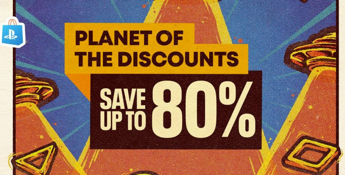 Playstation Store Planet of the Discounts