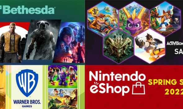 Nintendo eShop Spring Sale 2022