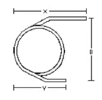 221-022 Empty Agilent Glass Column