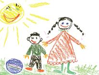 Image of a child's drawing