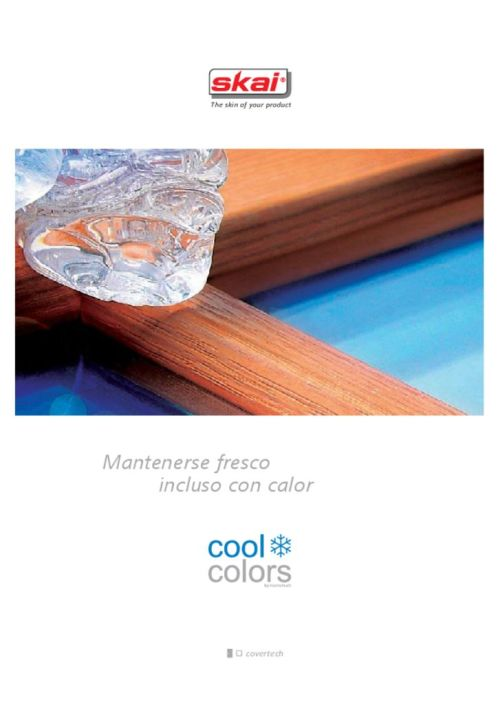 thumbnail of Catalogo Skai coolcolors [ES]