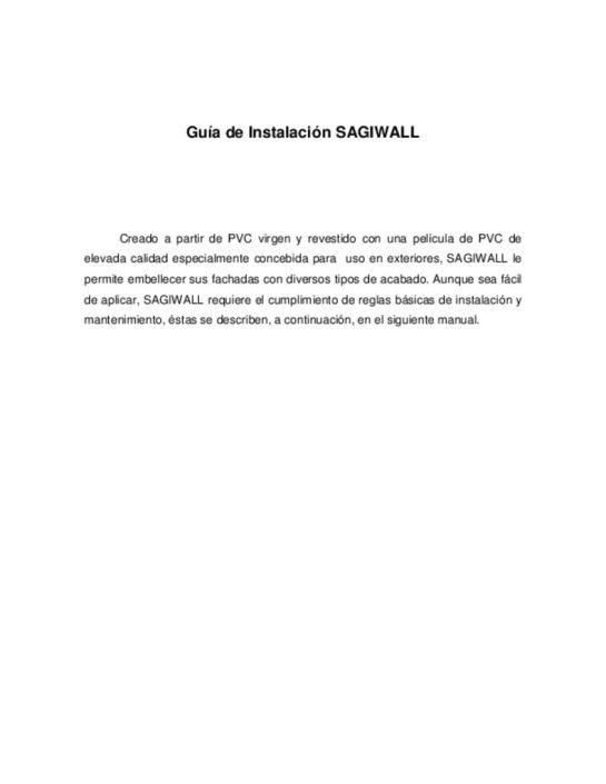 thumbnail of Sagiwall Guia de instalacion