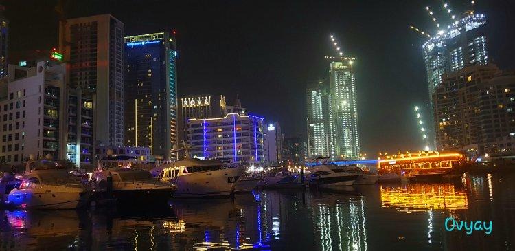 Dubai Marina night shots