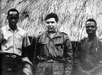 Che Guevara in the Congo