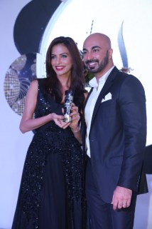 Fouzia with HSY