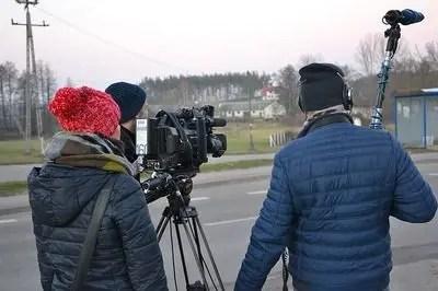 テレビチーム