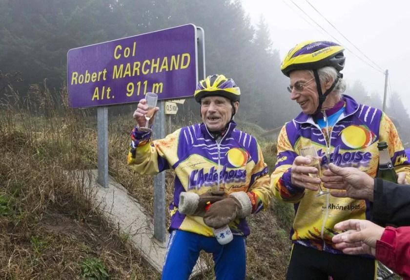 Robert-103 Day in the Life: Robert Marchand, Centenarian Cyclist