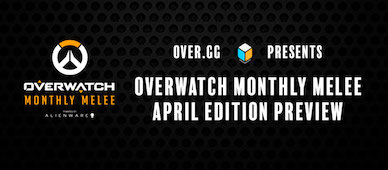 overwatch monthly melee april