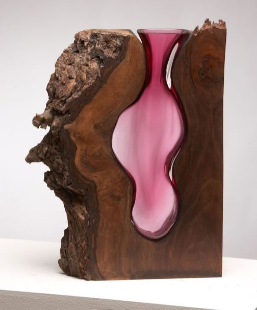 molten-glass-wood-sculpture-1