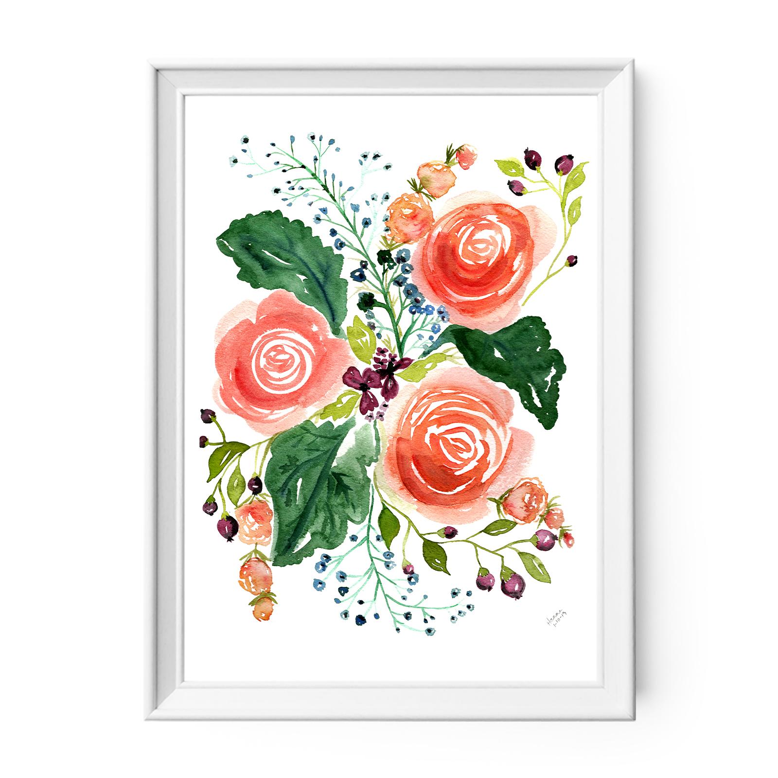 Floral Nursery Decor