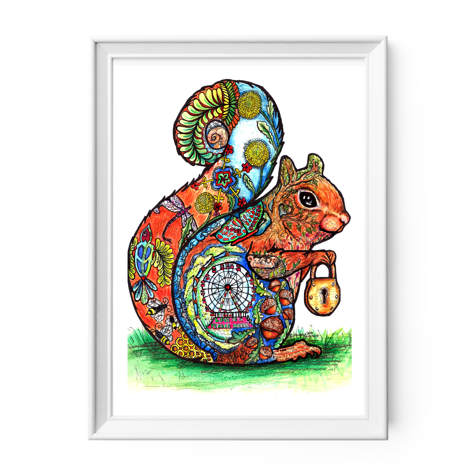Squirrel Wall Art