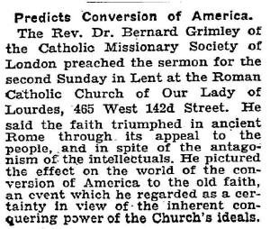 New York Times, March 2, 1931