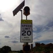 Be Careful in School Zones!