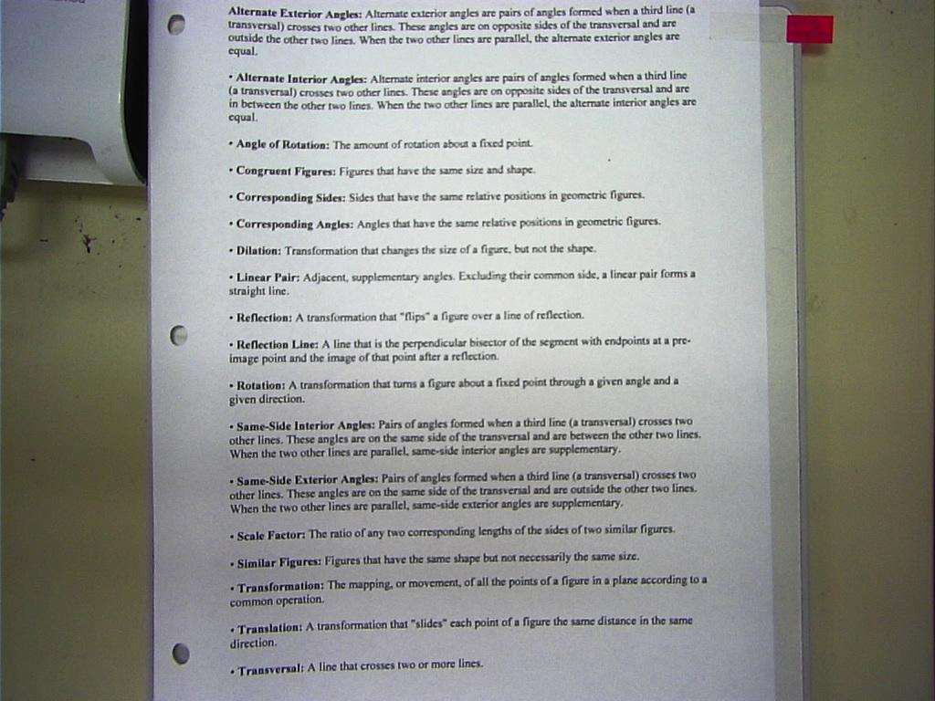 Unit 1 Worksheets