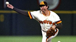 Goose Gossage, closer for the San Diego Padres.