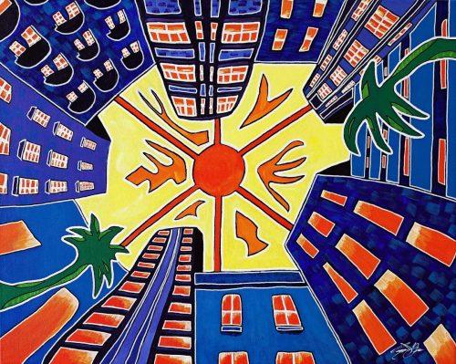 Miami, 1969 -- Owen York Art