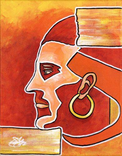 The Egyptian -- Owen York Art
