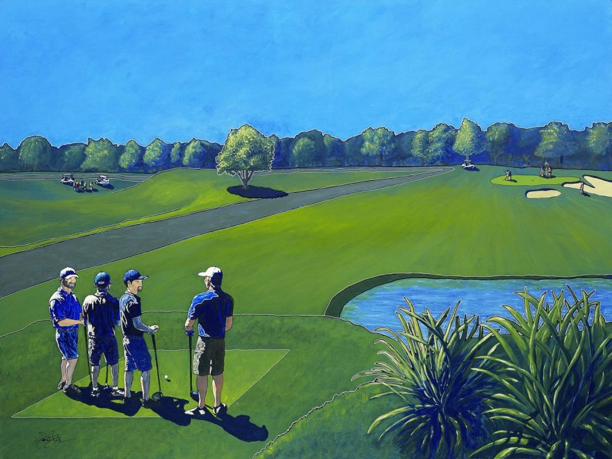 Owen York Art - The Par 3 Experience