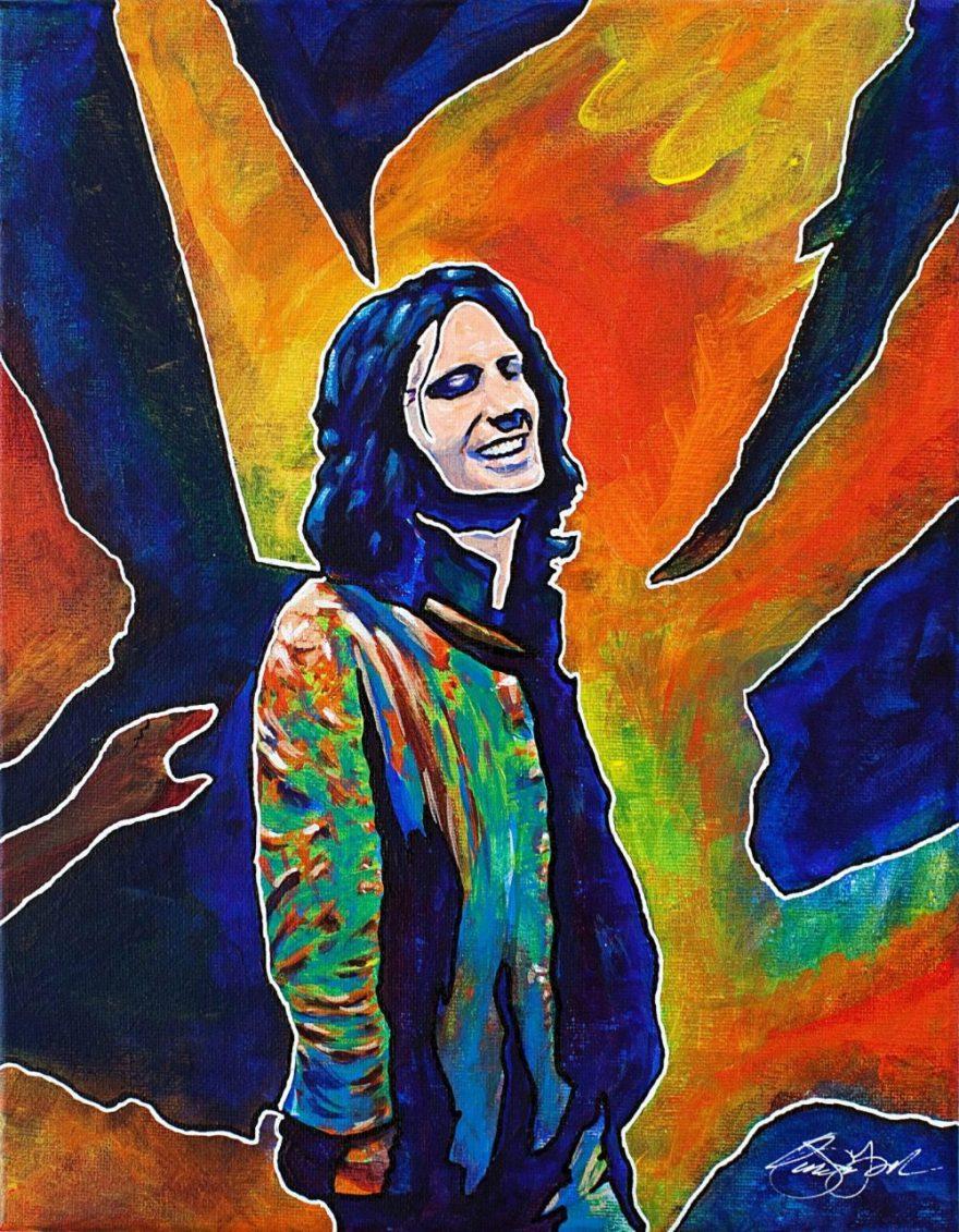 Owen York Art - The Real Jim Morrison