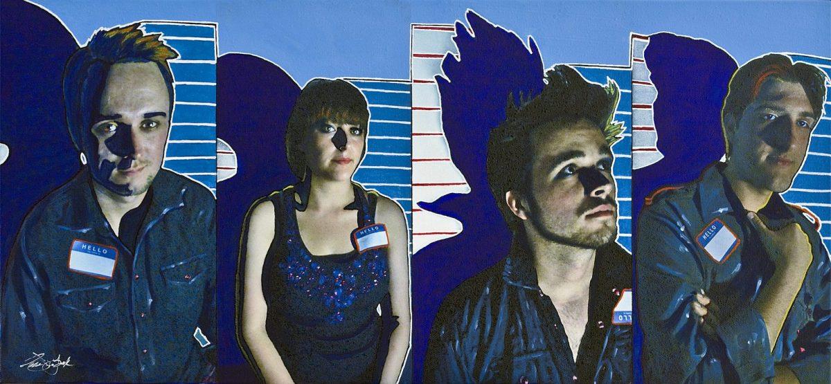 Owen York Art - WD-HAN, Into the Blue