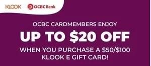 Singapore Klook OCBC Promotion