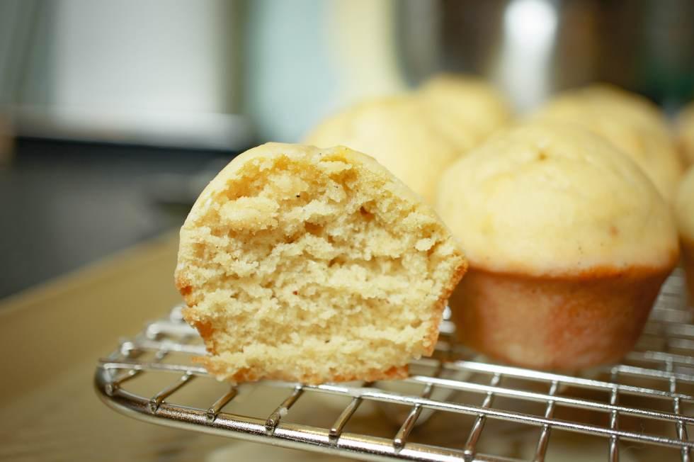 glazed donut muffins