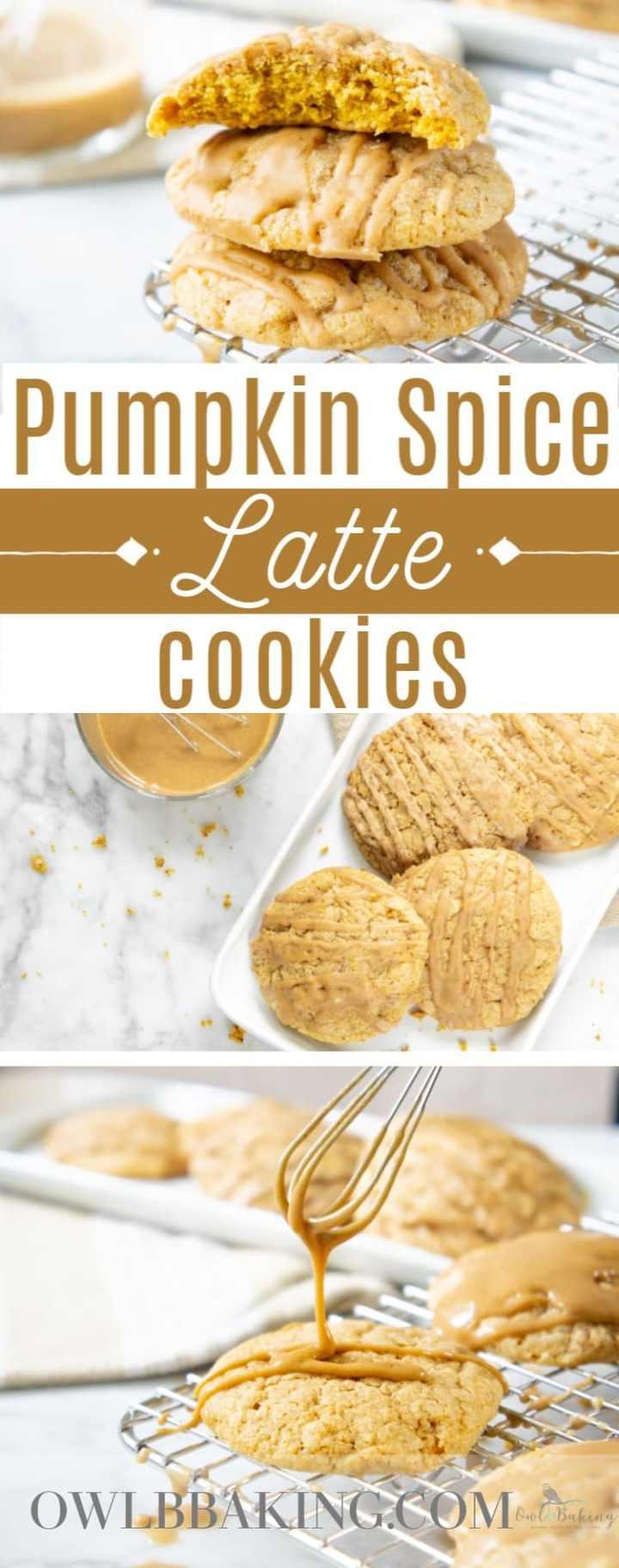 Pumpkin Spice Latte Cookies
