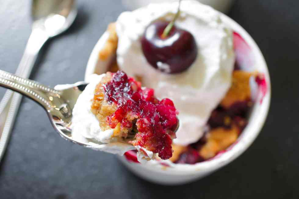 Cherry Crisp for Two