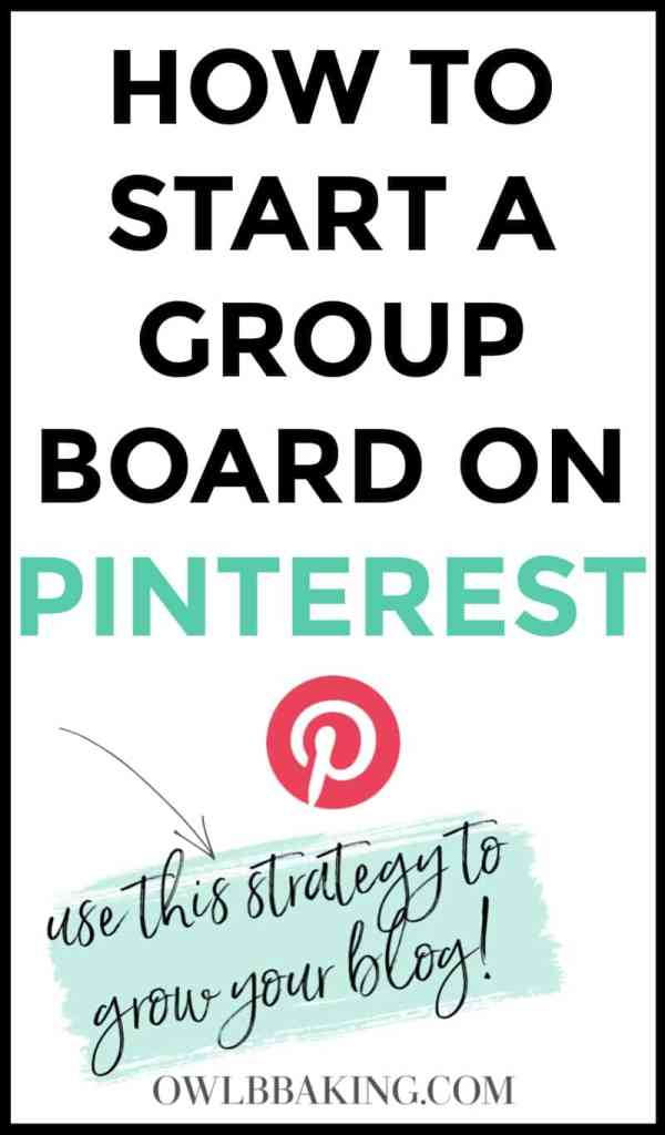 How to start a group board on Pinterest