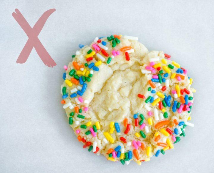 Sprinkle Cookies - exaample