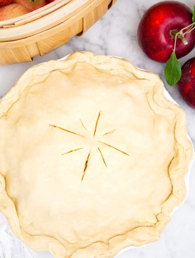 Citrus Apple Pie
