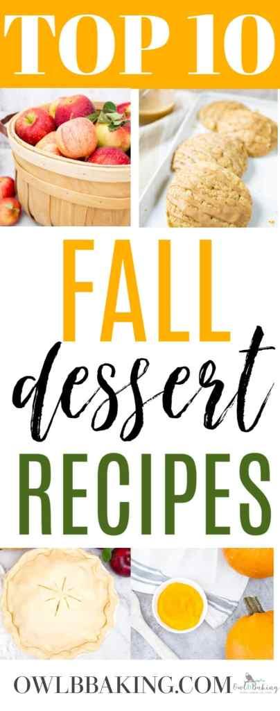 The best, easy fall dessert recipes