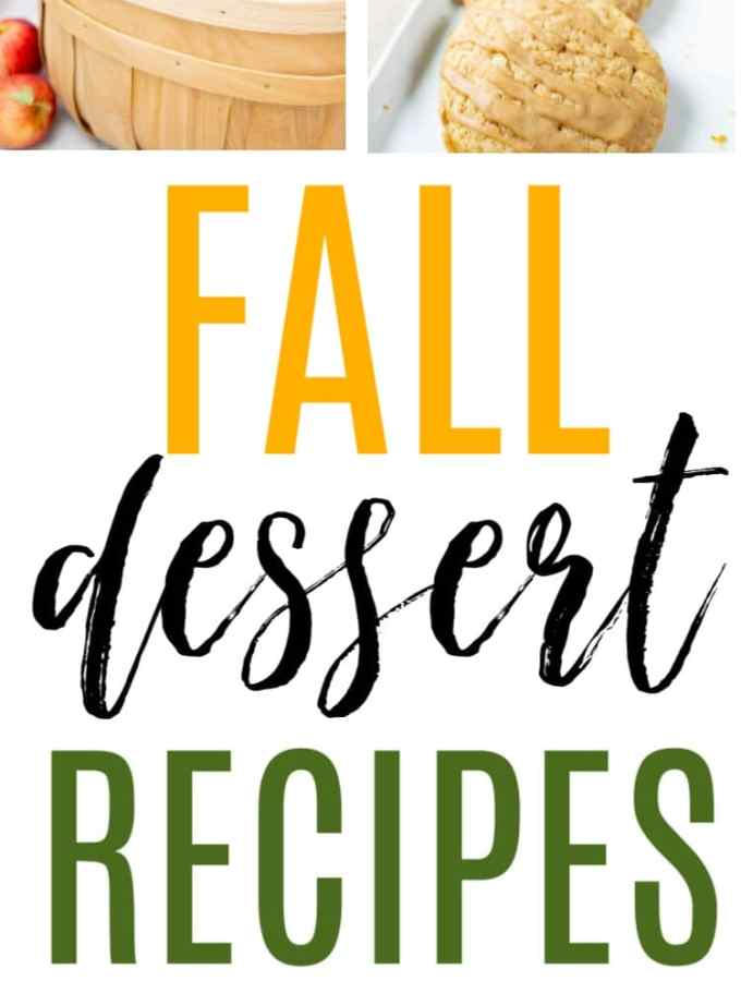 The best, easy fall dessert recipes