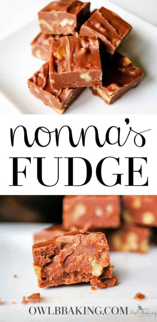 Owlbbaking Com Easy Fudge Recipe Nonna S Fudge