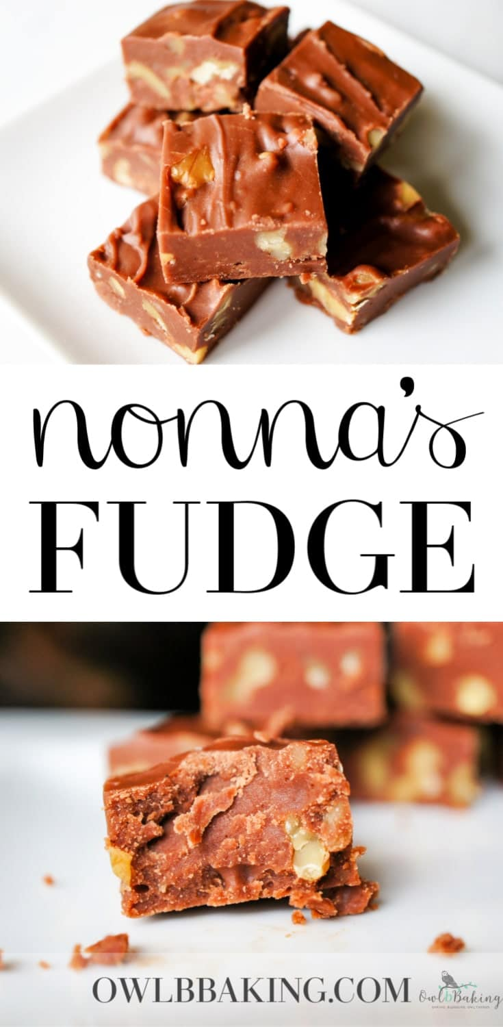 Nonna\'s Fudge
