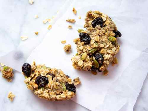 The best meal prep clean eating breakfast cookies.