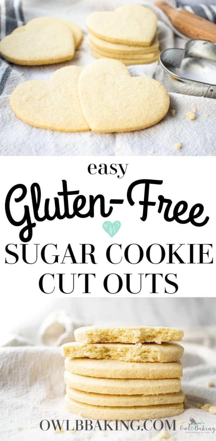 Gluten-Free Sugar Cookie Cut Outs