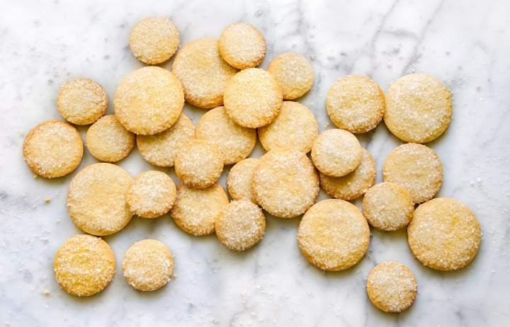 French Butter cookies on Marble - final