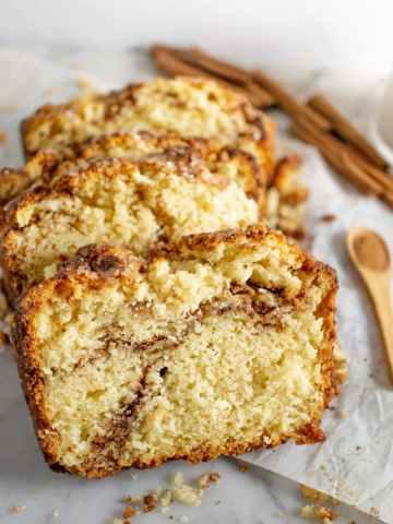 Slices of scone bread