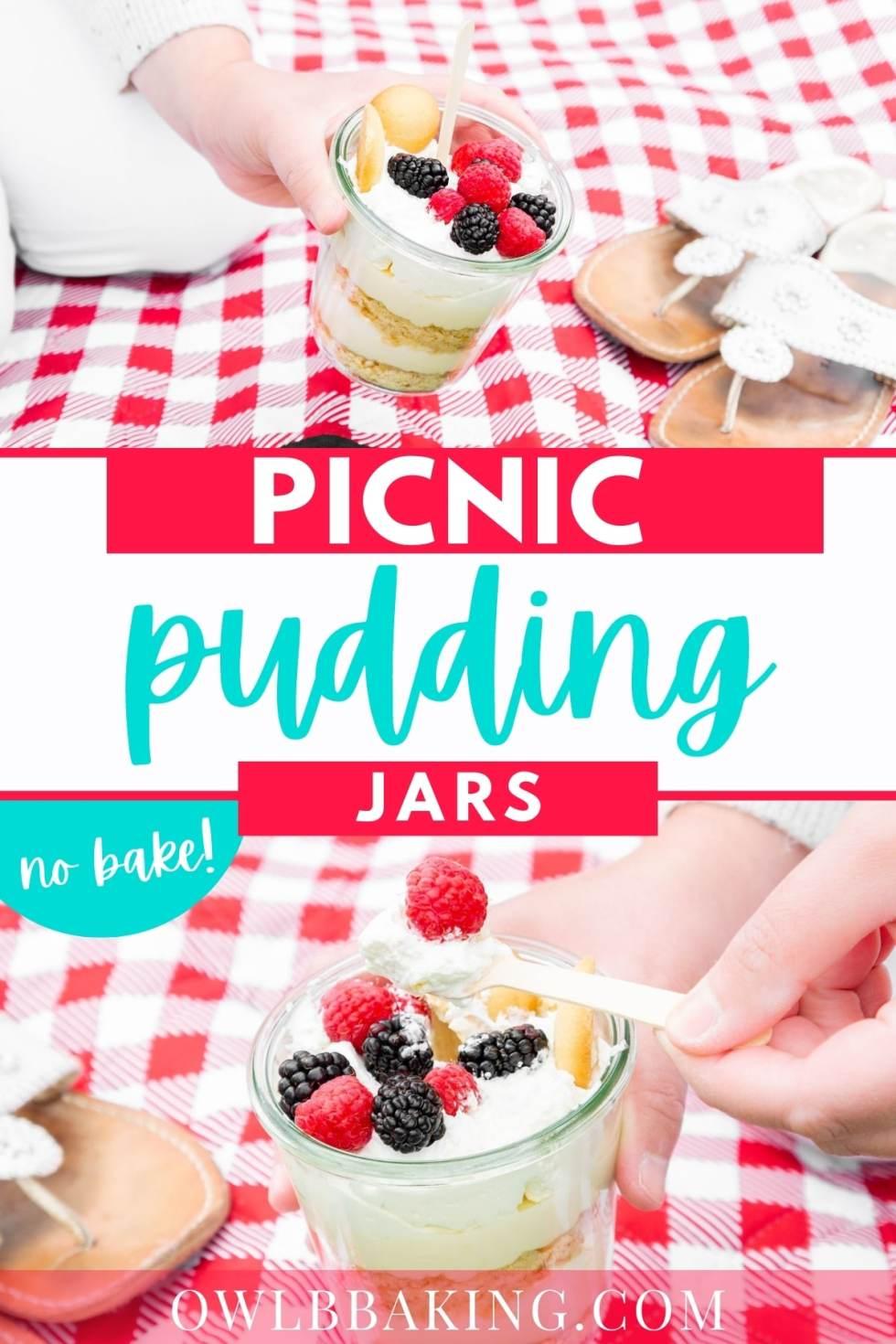 Picnic Pudding Jars