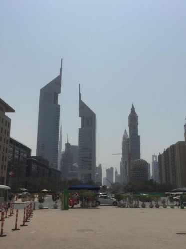 Dubai Skyline, LED industrial lighting trip